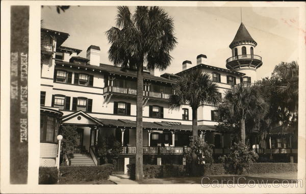 Jekyll Island Hotel, Front View Georgia