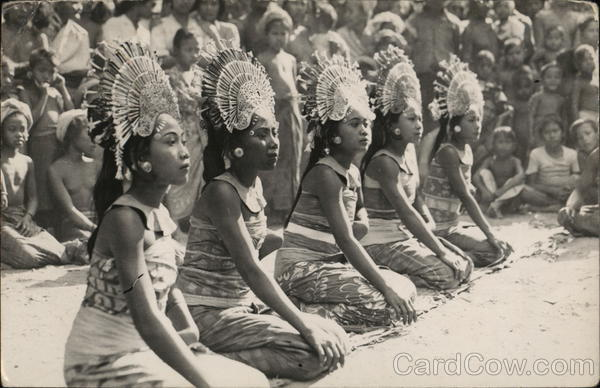 Indonesian Ceremonial Dress and Dance Asian
