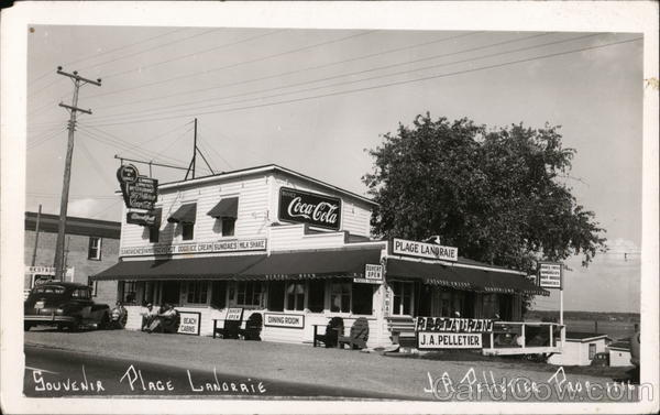 Restaurant and Souvenir Place Lanoraie, J. A. Pelletier, Proprietor Canada