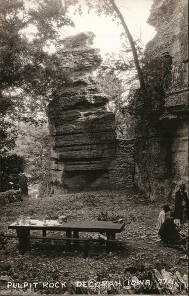 Pulpit Rock Decorah Iowa