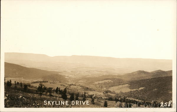 Skyline Drive Luray Virginia