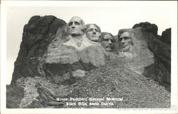 Mount Rushmore National Memorial Black Hills South Dakota