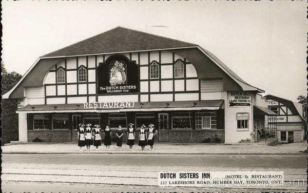 Dutch Sisters Inn Motel and Restaurant, 227 Lakeshore Road, Humber Bay Toronto Canada