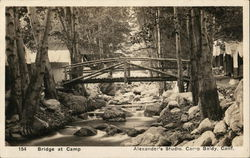 Bridge at Camp Baldy