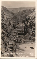 Upstream Through Black Canyon Postcard