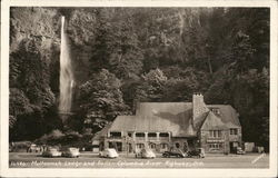 Multnomah Falls and Lodge, Columbia River Highway