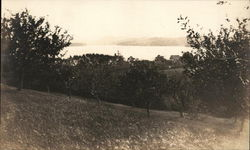 View of Canton Lake Postcard
