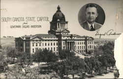 South Dakota State Capitol - Governor Sigurd Anderson