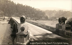 Douglas Memorial Bridge, Klamath River, Redwood Highway