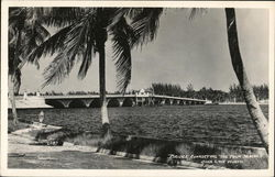Bridge Connecting The Palm Beaches
