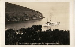 The S.S. Cabrillo Entering Isthmus Bay