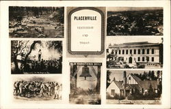 Greetings from Placerville Postcard