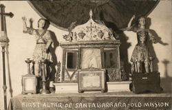 First Altar of Santa Barbara - Old Mission