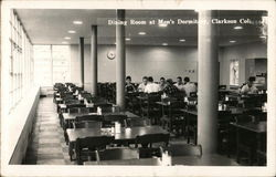 Dining Room in Men's Dormitory, Clarkson College
