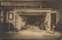 The Fireplace at Ye Olde Washington Inn (Timothy Ball House)