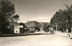 Main Street and Highway 89 Postcard