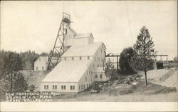 New Headframe and Mill, Brunswick Mine
