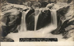 A Cascade, Death Creek Falls Near Grass Valley