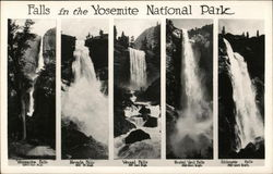 Falls in Yosemite National Park