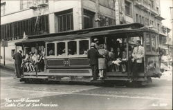 The World-Famous Cable Car of San Francisco