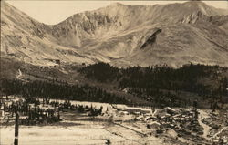 Panoramic View of Climax Molybdenum Mine Postcard