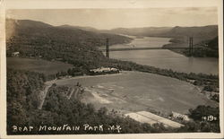 Bear Mountain Park and Bridge Postcard