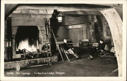 Ski Lounge--Timberline Lodge