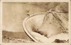 Arrowrock Dam, Built 1911 -1915 by U. S. Reclamation Service