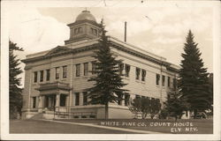White Pine County Court House Postcard