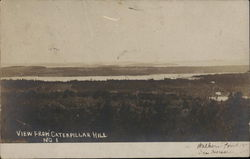View of Walker's Pond and Ice House From Caterpillar Hill