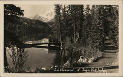 Lac Beauvert of Jasper Park Lodge