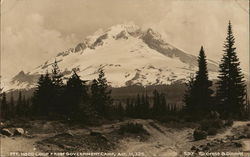 Mt. Hood from Government Camp, Alt. 11,225