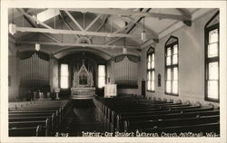 Interior of Our Savior's Lutheran Church