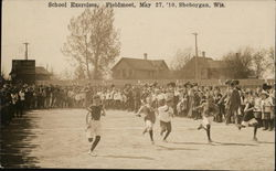 School Exercises, Field Meet May 27, 1910