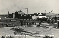 Bird's Eye View of Paper Mill