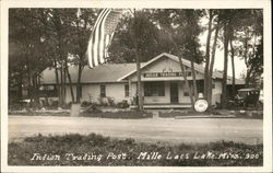 Indian Trading Post Postcard