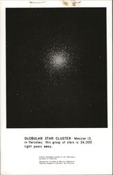 Globular Star Cluster - Messier 13 in Hercules