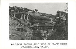 40 Stamp Potosi Gold Mill on Black Creek