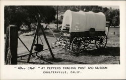 """49er"" Camp at Peppers Trading Post and Museum"