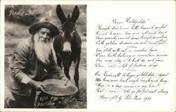 Peter Voiss and LaMae (Donkey) Goldpanning