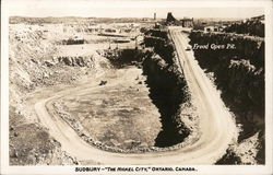 Frood Open Pit Postcard
