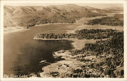 Aerial View of Big Bear Lake