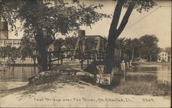 Foot Bridge Over Fox River