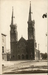 St. Anthony's Church and Hattenbuer Drug Store