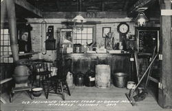 Old Fashioned Country Store at Grave Mill Postcard