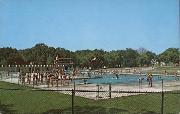 Municipal swimming pool mason city ia postcard - Decorah municipal swimming pool decorah ia ...