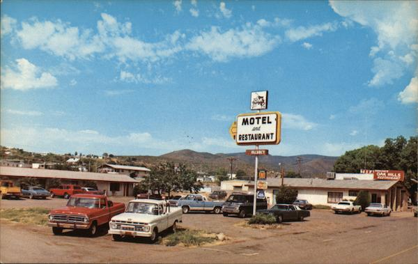Duncan S Oak Hills Motel Restaurant Mayer Arizona