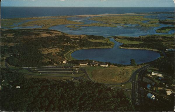Aerial View, Cape Cod National Seashore Visitor Center Eastham Massachusetts