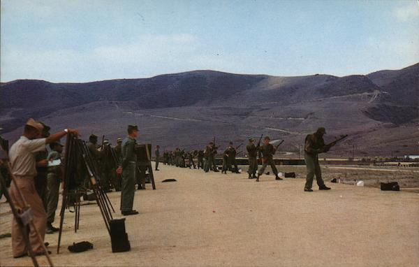 Rifle Range California Marines