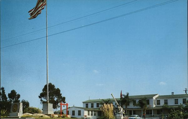 The Headquarters of the 1st Marine Division Camp Pendleton California